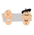 teeth smiles vector image vector image