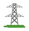 electrical tower transmission energy power vector image