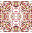 stylized flowers oriental wallpaper retro seamless vector image