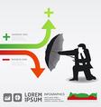 Finance safe idea vector image