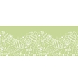 Birthday doodle horizontal seamless pattern vector image
