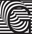 letter g design template vector image
