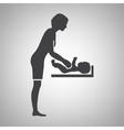 mothers room icon vector image