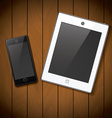 New realistic mobile phone smartphone iphon style vector image