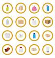 packaging cartoon icon circle vector image