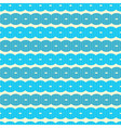 Abstract Retro Seamless Blue Background vector image