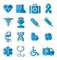 Medicine icons vecior3 vector image