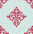 seamless baroque damask luxury background vector image