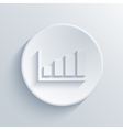 modern graph light circle icon vector image