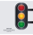semaphore trafficlight sign design vector image