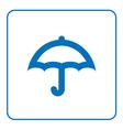 Umbrella icon cartoon vector image vector image
