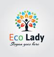 Natural Logo vector image