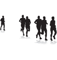 joggers vector image