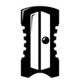 sharpener icon simple black style vector image