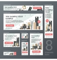 Web Banners Set vector image