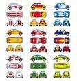 VW Beetle cars vector image