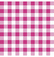 pink lumberjack seamless pattern vector image