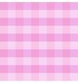 pink checkered cloth vector image