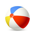 beach ball vector image vector image