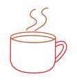 chocolate mug design vector image