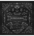 Collection of flourishes vector image