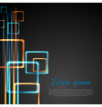 Abstract technology design vector image vector image