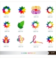 Icons set Design elements set art vector image
