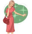 Woman fashion vector image vector image