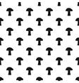 Mushroom pattern simple style vector image