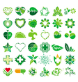 collection of logos health vector image