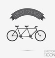 retro bicycle icon Symbol of transport Icon of a vector image