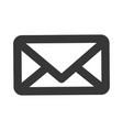 message envelope pictogram vector image