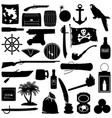 pirate pictogram vector image