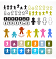 Man - People Icons vector image
