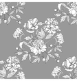 Seamless pattern with bouquet of flowers vector image