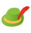 Irish hat icon icon cartoon style vector image