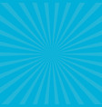 sunburst starburst with ray of light blue color vector image