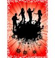 party template vector image vector image