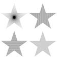 Pattern Star Set vector image