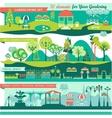 Landscape Design Constructor vector image