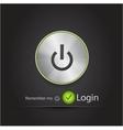 login black modern n background vector image vector image