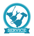 Design for service vector image