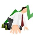 Office runner vector image