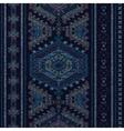 Vertical ornamental seamless pattern Dark ethnic vector image vector image