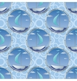 Seamless background portholes and ships vector image vector image