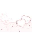 Wedding love frame vector image