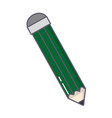 pencil color isolated icon vector image