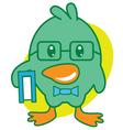 Smart Bird vector image