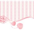 Wedding greetings or invitation card vector image