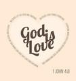 bible verse for evangelist and valentine vector image